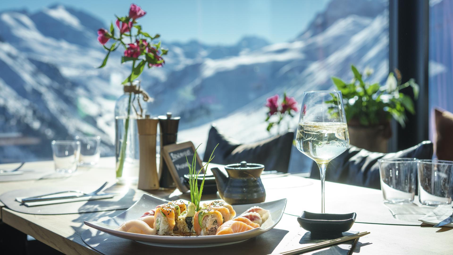 """""""Schlegelkopf Restaurant/Bar"""": Sushi"""